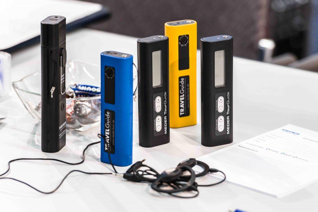 Produkte für Personenführungen, MEDER CommTech GmbH